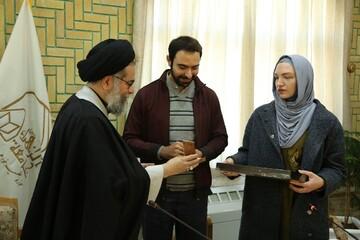 تشرف بانوی روسی به دین اسلام در جامعةالزهرا(س)