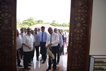 مسجد جدیدی در یکی از جزایر مالدیو افتتاح شد