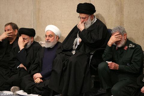 مراسم بزرگداشت شهید سلیمانی و همرزمانش با حضور رهبر انقلاب
