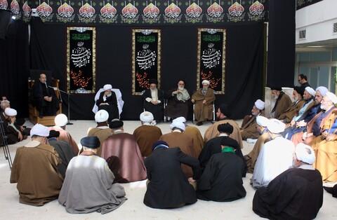 مراسم عزاداری شهادت حضرت زهرا (س) در بیوت مراجع و علما