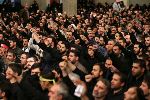تصاویر/ مراسم بزرگداشت سردار شهید حاج قاسم سلیمانی و همرزمانش در حسینیه امام خمینی(ره)