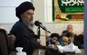 آية الله المدرسي يدعو المجتمعات الاسلامية إلى الحذر من الإسترسال مع الإعلام المضلل