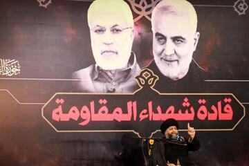 تصاویر/ محفل تجدید پیمان با سرداران جبهه مقاومت در اهواز