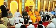 حضور شخصیت های غیرمسلمان هندی در نماز جمعه کرالا
