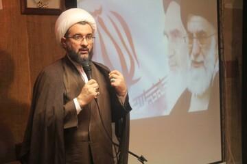 تصاویر/ حضور مدیر حوزه علمیه کردستان در مدرسه علمیه امام صادق(ع) قروه