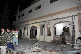 14 killed in blast at mosque in Pakistan's Quetta