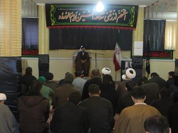 مراسم عزاداری شهادت حضرت فاطمه(س) در جامعه المصطفی تبریز