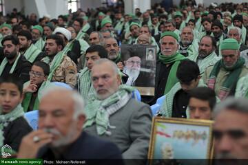 بالصور/ مؤتمر لتكريم مقام شهداء السادة الكرام في محافظة الخراسان الجنوبية شرقي إيران