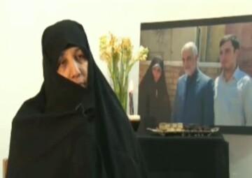 فیلم| سخنان مادر یکی از شهدای سقوط هواپیمای مسافربری اوکراینی