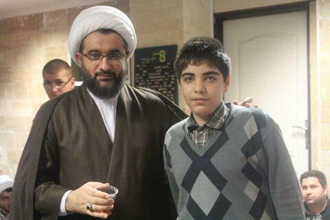 حضور مدیر حوزه علمیه کردستان در مدرسه علمیه امام صادق(ع) قروه