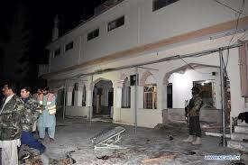 14 killed in blast at mosque in Pakistan's Quetta