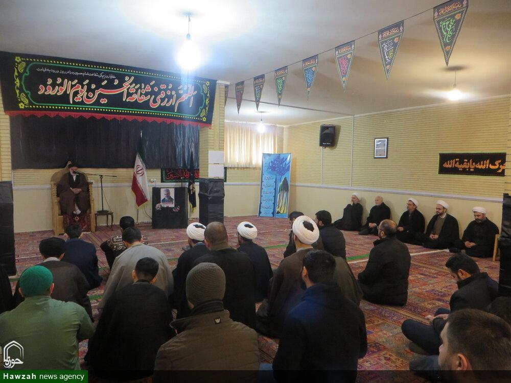 تصاویر / مراسم عزاداری شهادت حضرت فاطمه(س) در جامعه المصطفی تبریز