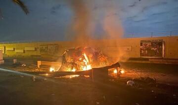 بازداشت سه نفر در فرودگاه بغداد در رابطه با ترور سردار سلیمانی