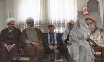 فیلم/ دیدار مدیر حوزه قزوین با خانواده روحانی شهید رضا وهابی محقق