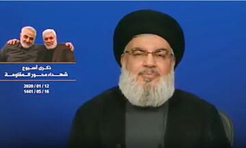 فیلم  پیروزیهای لبنان مدیون زحمات شهید حاج قاسم سلیمانی است