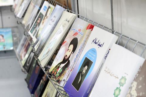 بازدید نماینده ولی فقیه در استان همدان در نمایشگاه کتاب