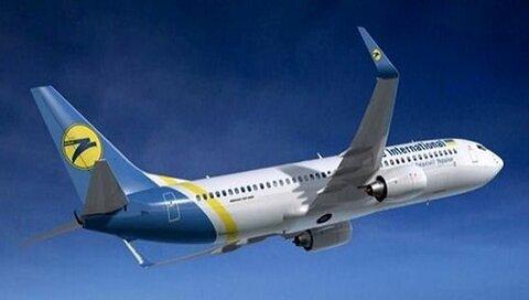 اصابت قرار گرفتن هواپیمای اوکراینی