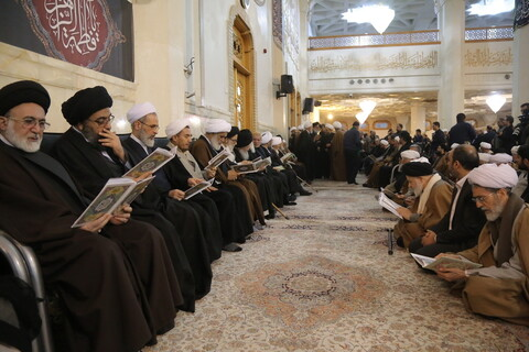 تصاویر / مراسم بزرگداشت آیت الله سید هاشم رسولی محلاتی از سوی دفتر مقام معظم رهبری در قم