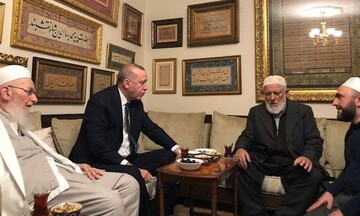 Erdoğan visits Islamist leaders in Istanbul