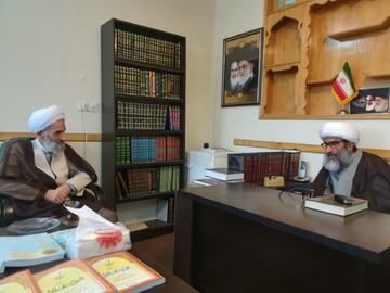 دیدار نماینده ولی فقیه در استان مازندران با آیت الله سیفی مازندرانی