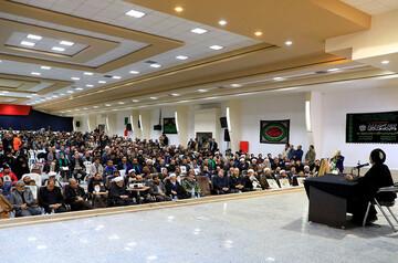 تصاویر/ مراسم ترحیم سپهبد  شهید حاج قاسم سلیمانی در دانشگاه آزاد بیرجند