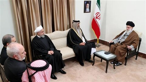 Ayatollah Khamenei decries 'Corrupt acts' by US, allies as cause of current situation in region