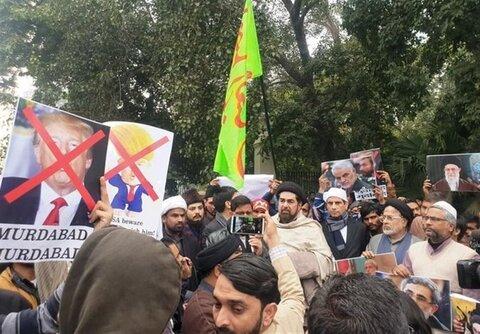 Anti-US protest held in Delhi over martyrdom of General Soleimani
