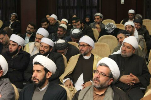 تصاویر/ برگزاری نهمین پیش همایش ملی «مقاومت اسلامی از نگاه قرآن» در سنندج