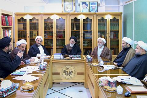 نشست «شورای سیاست گذاری همایش ملی طرح تکریم و تقدیر از فعالین عرصه نهج البلاغه»