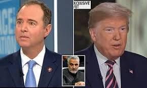 Adam Schiff accuses Donald Trump of 'fudging' intelligence that led to Qassem Soleimani's death
