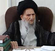 تسلیت مدیر حوزه خواهران گلستان در پی درگذشت آیت الله میبدی(ره)
