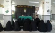 طلاب خواهر آذربایجانغربی در سوگ جانباختگان سانحه هوایی+ عکس