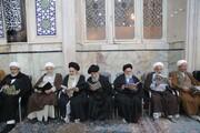 تصاویر / مراسم بزرگداشت شهیدان حاج قاسم سلیمانی و ابومهدی المهندس از سوی عتبه حسینی در قم