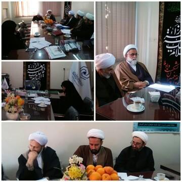 جلسه شورای نهادی حوزوی استان گلستان برگزار شد