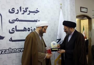 تصاویر/ بازدید رئیس دفتر تبلیغات اسلامی از رسانه رسمی حوزه