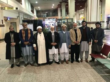 سفر هیئت بلند پایه شورای همبستگی ملی پاکستان به ایران