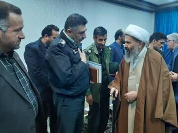 تصاویر/ دیدار اعضای ستاد بزرگداشت دهه فجر کاشان با آیت الله نمازی