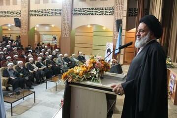 تصاویر/ گردهمایی طلاب و روحانیون شهر سنندج