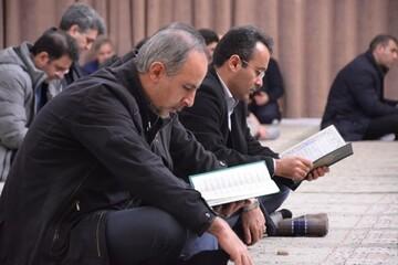 تصاویر/ مراسم بزرگداشت جانباختگان سقوط هواپیما در دانشگاه تبریز