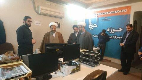 بازدید رئیس دفتر تبلیغات اسلامی از خبرگزاری حوزه