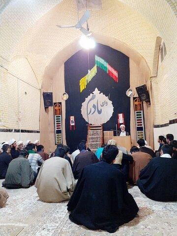 تصاویر شما/ برگزاری جلسه درس اخلاق و کارگاه مشاوره تحصیلی در مدرسه علمیه صاحب الامر(عج) آشتیان