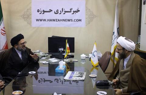 تصاویر/ بازدید رییس دفتر تبلیغات اسلامی از خبرگزاری حوزه