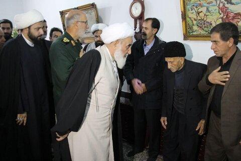 دلجویی نماینده ولی فقیه در استان کرمانشاه از خانواده داغدار سانحه هوایی در اسلام آباد غرب