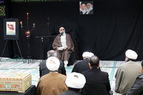 مراسم بزرگداشت شهدای حادثه سقوط هواپیما