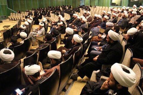 نشست صمیمی مبلغین مدارس طرح امین با مدیر حوزه علمیه تهران