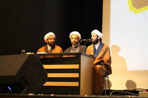نشست مبلغان مدارس امین با مدیر حوزه علمیه تهران