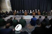 تصاویر/ مجلس ترحیم جانباختگان هواپیمای اوکراینی در مسجد اعظم