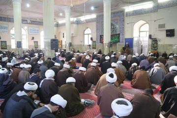تصاویر / درس اخلاق آیت الله محسن فقیهی در مدرسه علمیه آیت الله العظمی گلپایگانی