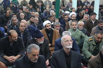 تصاویر/ مراسم گرامیداشت جانباختگان سقوط هواپیما در هیئت ابوالفضلی بیرجند
