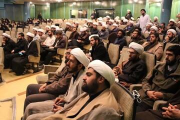 بالصور/ اجتماع مبلغي مدارس الأمين مع مدير حوزة طهران العلمية